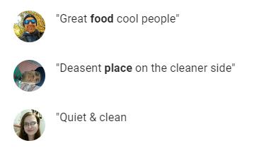 Google Reviews Tenants Royal Manor Inn